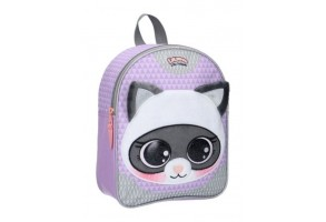 Малка 3D раница Vadobag Animals Raccoon, 25 х 31 х 10 см