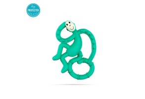 Matchstick Monkey Mini Monkey Teether чесалка с апликатор - Green