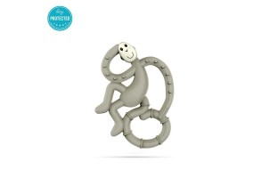 Matchstick Monkey Mini Monkey Teether чесалка с апликатор - Grey
