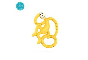 Matchstick Monkey Mini Monkey Teether чесалка с апликатор - Yellow
