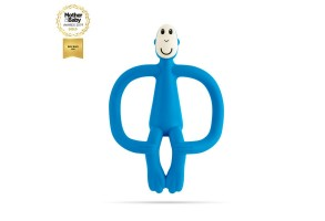 Matchstick Monkey Original Monkey Teething Toy чесалка с апликатор - Blue