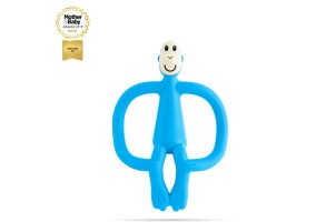 Matchstick Monkey Original Monkey Teething Toy чесалка с апликатор - Light Blue