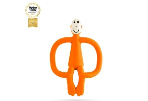Matchstick Monkey Original Monkey Teething Toy чесалка с апликатор - Orange