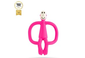 Matchstick Monkey Original Monkey Teething Toy чесалка с апликатор - Pink