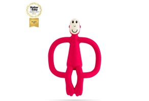 Matchstick Monkey Original Monkey Teething Toy чесалка с апликатор - Rubine