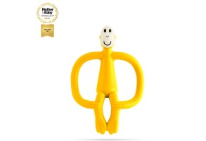 Matchstick Monkey Original Monkey Teething Toy чесалка с апликатор - Yellow