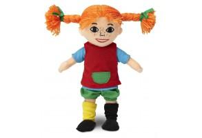 Мека кукла Пипи Дългото Чорапче