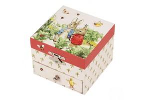 Музикална кутия, Зайчето Питър в градината