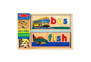 Нареди буквите Melissa and Doug