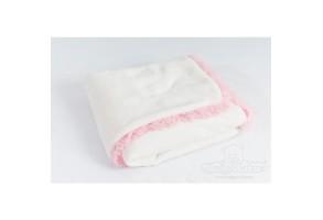 Одеяло TIMO 75x100 бяло Baby Matex