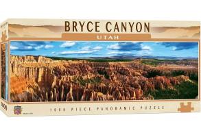 Панорамен пъзел Master Pieces от 1000 части - Брайс каньон, Юта