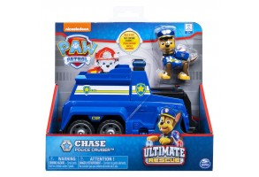 PAW PATROL Фигурка с превозно средство ULTIMATE RESQUE - Модел: Chase