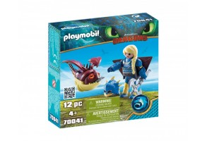 Playmobil - Astrid with Hobgobbler
