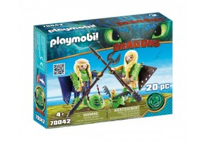 Playmobil - Raffnut and Taffnut