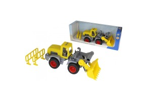 Polesie Toys Товарен багер с лопата - 37732, Многоцветен, 36+