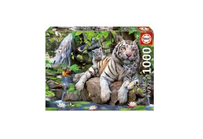 Пъзел EDUCA BENGAL WHITE TIGERS 1000ч 14808