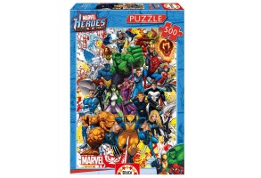 Пъзел EDUCA  MARVEL HEROES 500ч 15560