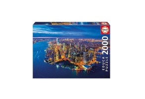 Пъзел EDUCA NEW YORK AERIAL VIEW 2000ч 16773