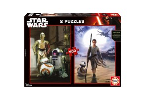 Пъзел EDUCA STAR WARS еп.7 2х500 ел. 16523
