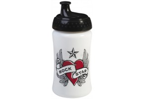 Rock Star Baby чаша - бутилка 340ml Heart & Wings