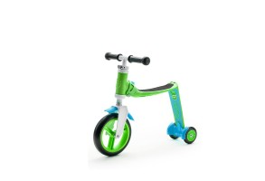 Тротинетка / колело за баланс 2 в 1 Highwaybaby+ - Green/Blue