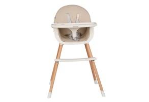 Стол за хранене Nutri Wood Beige