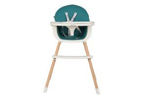 Стол за хранене Nutri Wood Petrol Green
