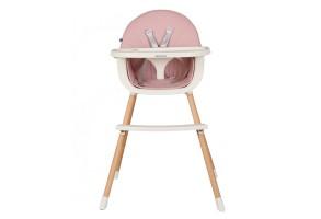 Стол за хранене Nutri Wood Pink