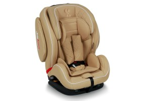 Стол за кола 9-36 кг MARS+SPS ISOFIX LEATHER BEIGE