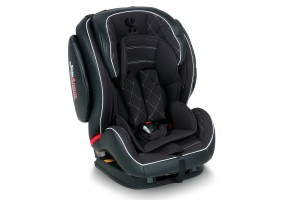 Стол за кола 9-36 кг MARS+SPS ISOFIX LEATHER BLACK