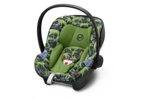 Стол за кола Cybex Aton M I-Size FE VALUES FOR LIFE Respect green