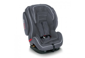 Стол за кола Mars+SPS Isofix Dark Grey Leather 9-36кг.