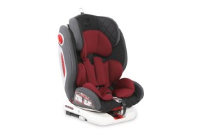 СТОЛ ЗА КОЛА ROTO ISOFIX 0-36 KG BLACK&RED