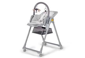 Столче за хранене KinderKraft LASTREE, сиво