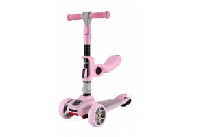 Тротинетка Roadster 3 in 1 Pink 2020