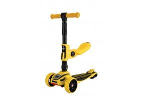 Тротинетка Roadster 3 in 1 Yellow 2020