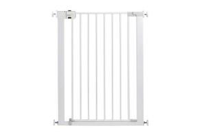 Универсална метална висока преграда за врата - бял цвят