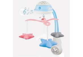 Музикална въртележка за кошара и легло Raya Toys 35614, Звезди