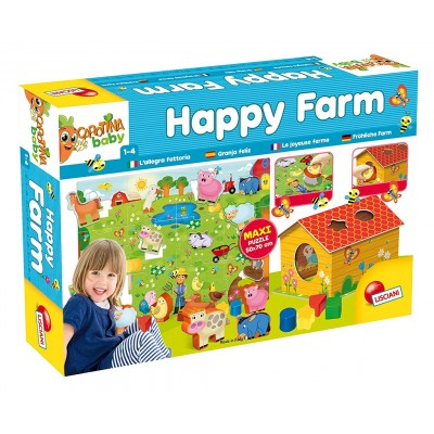 3D Пъзел Carotina Baby Happy Farm