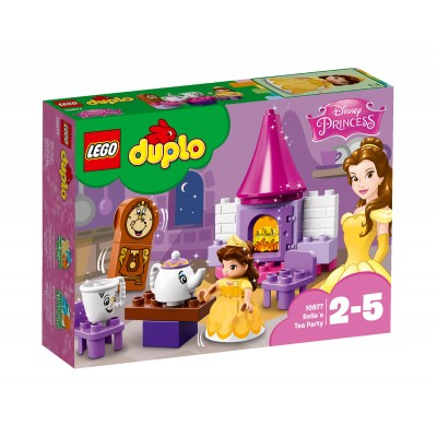 LEGO DUPLO Disney Princess 10877 - Чаеното парти на Бел