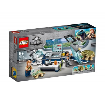 LEGO Jurassic World 75939 - Лабораторията на Dr Wu: бягството на бебетата динозаври