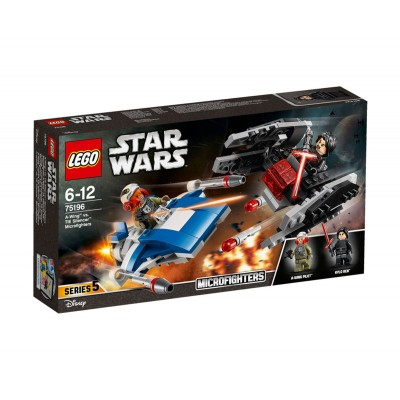LEGO Star Wars 75196 - A-wing vs. TIE Silencer Microfighters