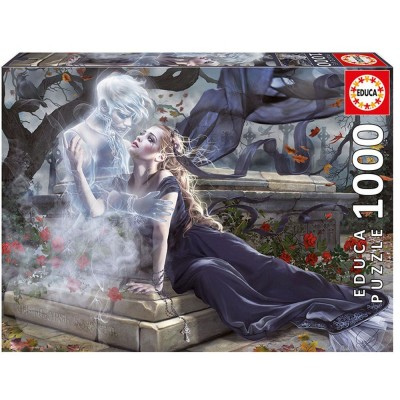 Пъзел EDUCA BRIDE IN BLACK 1000ч 17661