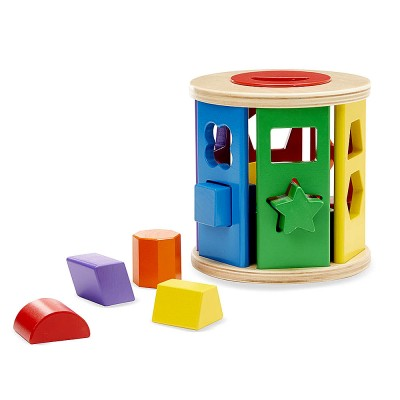 Сортер ролка с форми Melissa and Doug